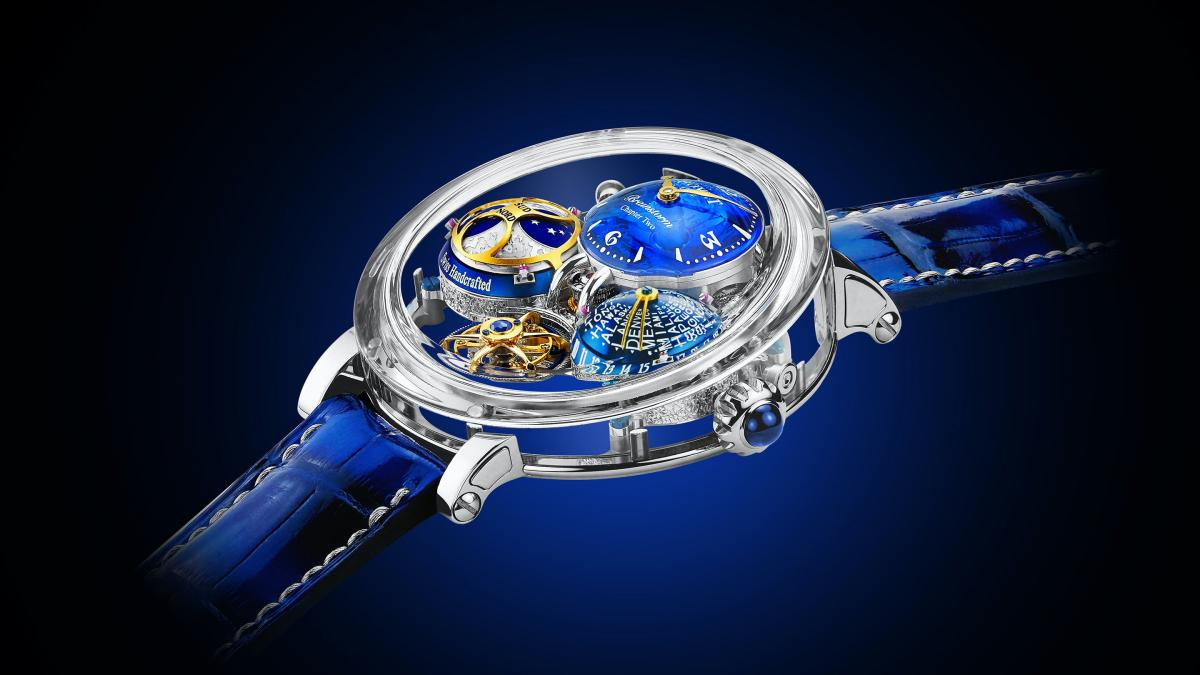 Complex and stunning - Bovet debuts the $383,500 Récital 26 Brainstorm Chapter Two timepiece : Luxurylaunches