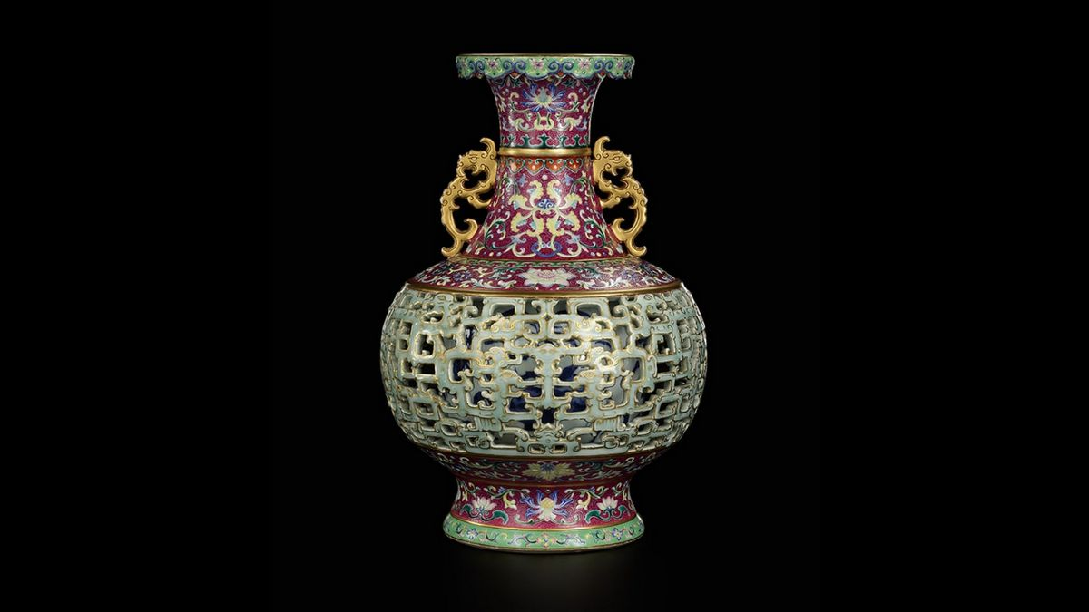 After selling for a mere $56 years ago, this exotic Chinese vase was auctioned for a grand $9 million at Sotheby's