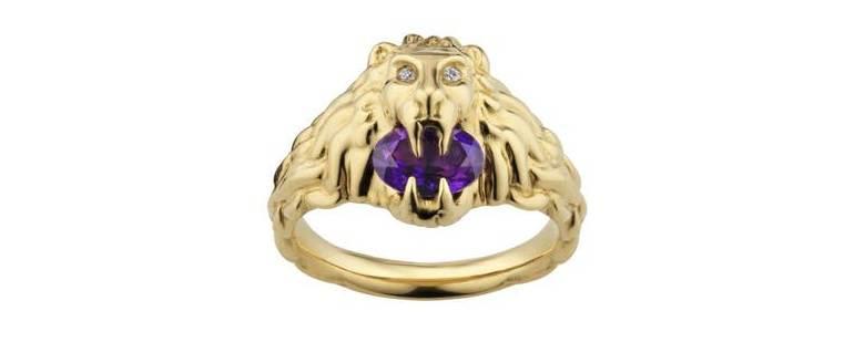 Gucci Majestic Lion Head Fine Jewelry - 7
