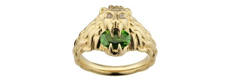 Gucci Majestic Lion Head Fine Jewelry - 8