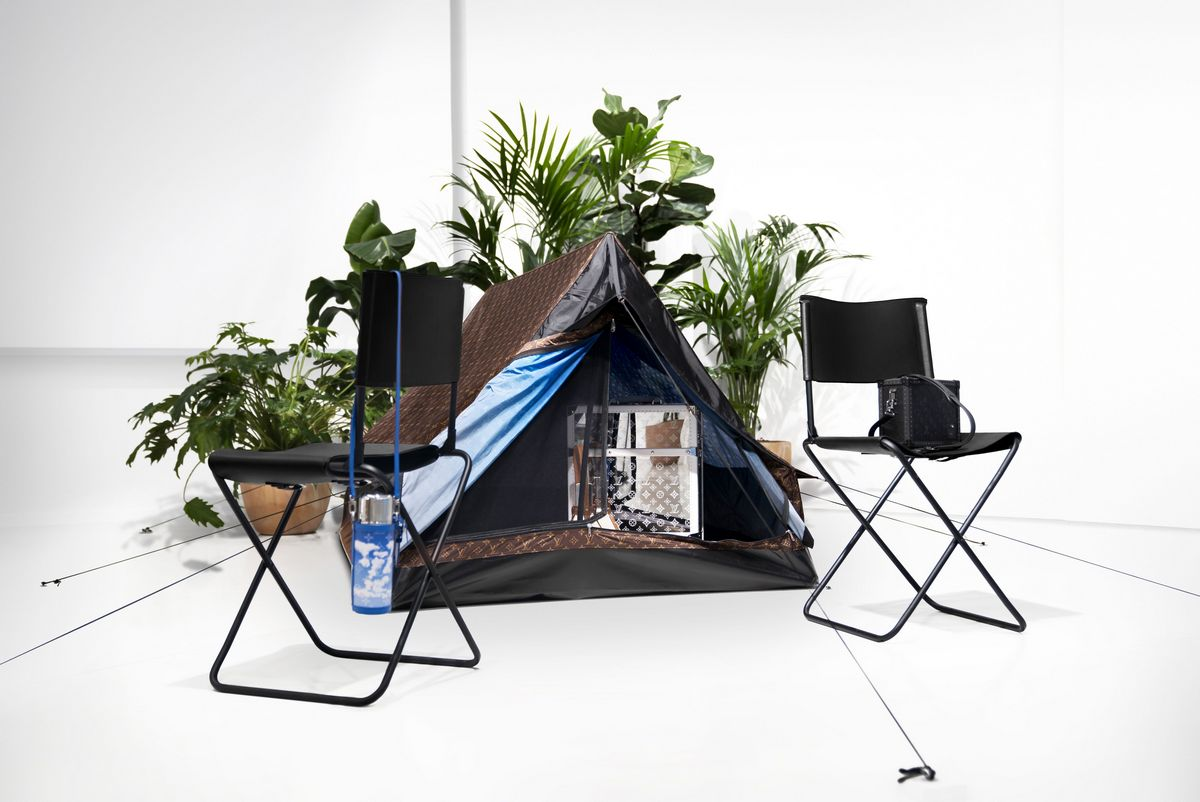 Enjoy the great outdoors in the Louis Vuitton camping tent : Luxurylaunches