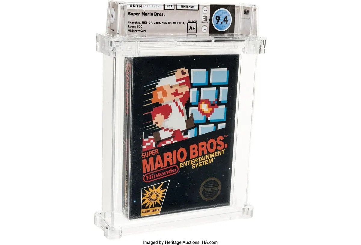 Its me a Mario - An original boxed copy of Super Mario Bros may fetch more than $42,000 in auction : Luxurylaunches