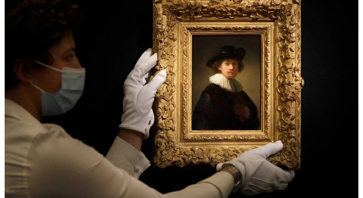 Someone bought a Rembrandt painting online for $18.7 million : Luxurylaunches