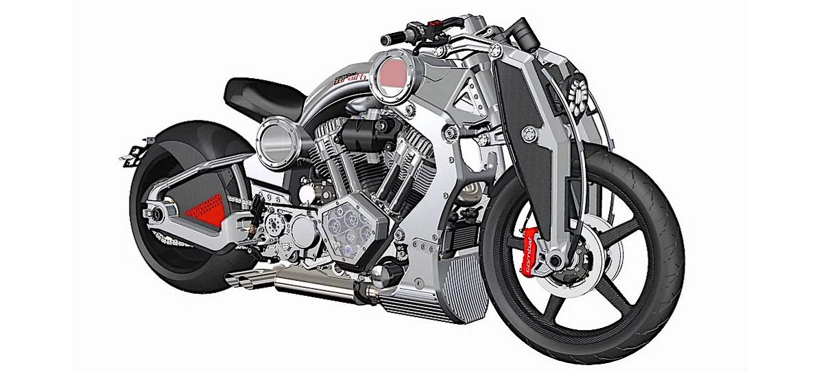 The 2020 Combat Wraith is a unique motorcycle that is made entirely out of military-grade aluminum and costs $155,000