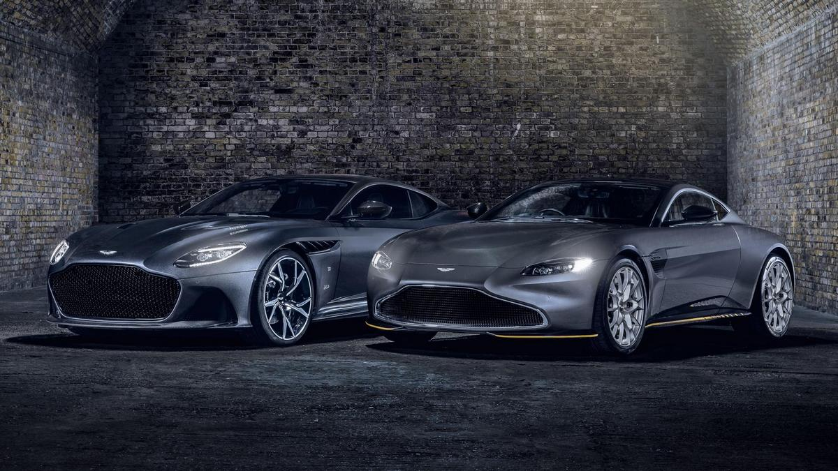Aston Martin releases a pair of limited-edition cars to celebrate the upcoming James Bond movie