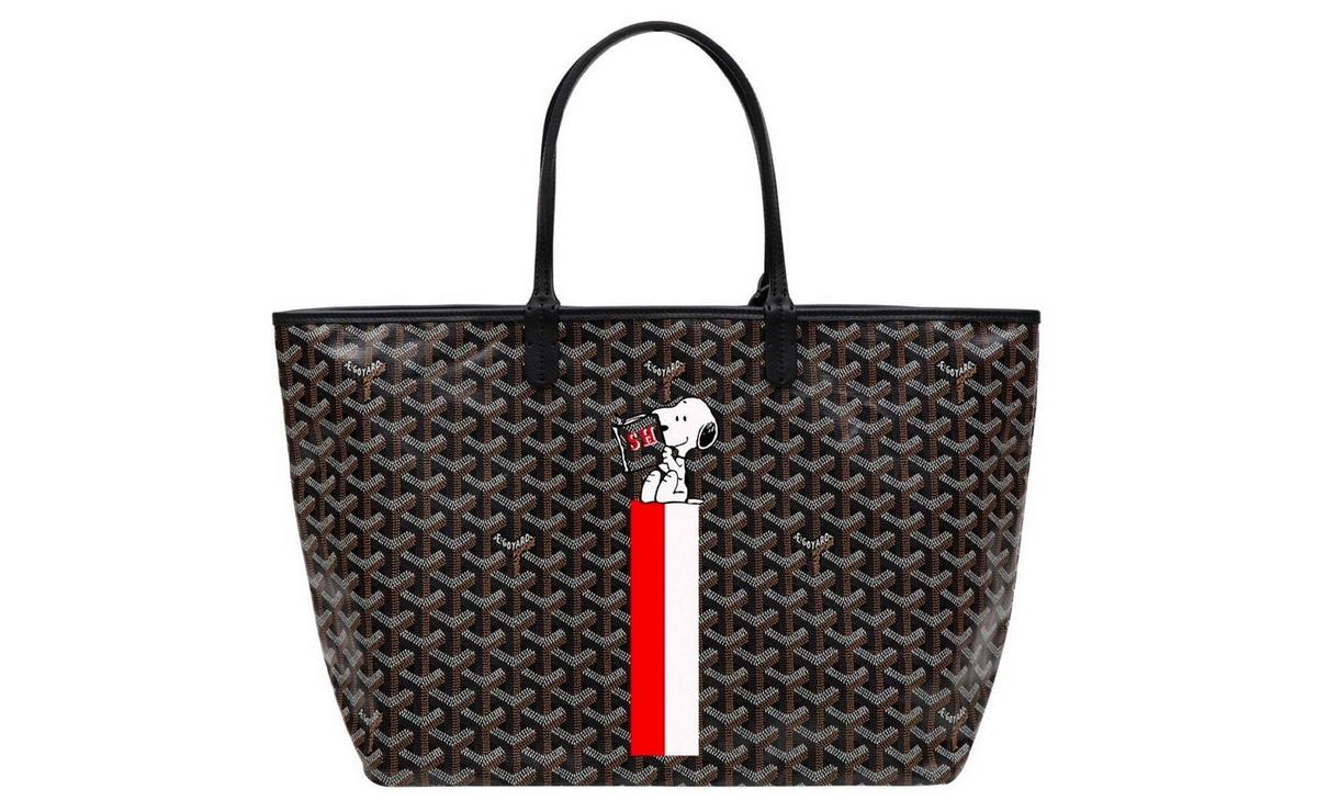 Goyard goes cute with a limited edition Snoopy capsule for 2020 : Luxurylaunches