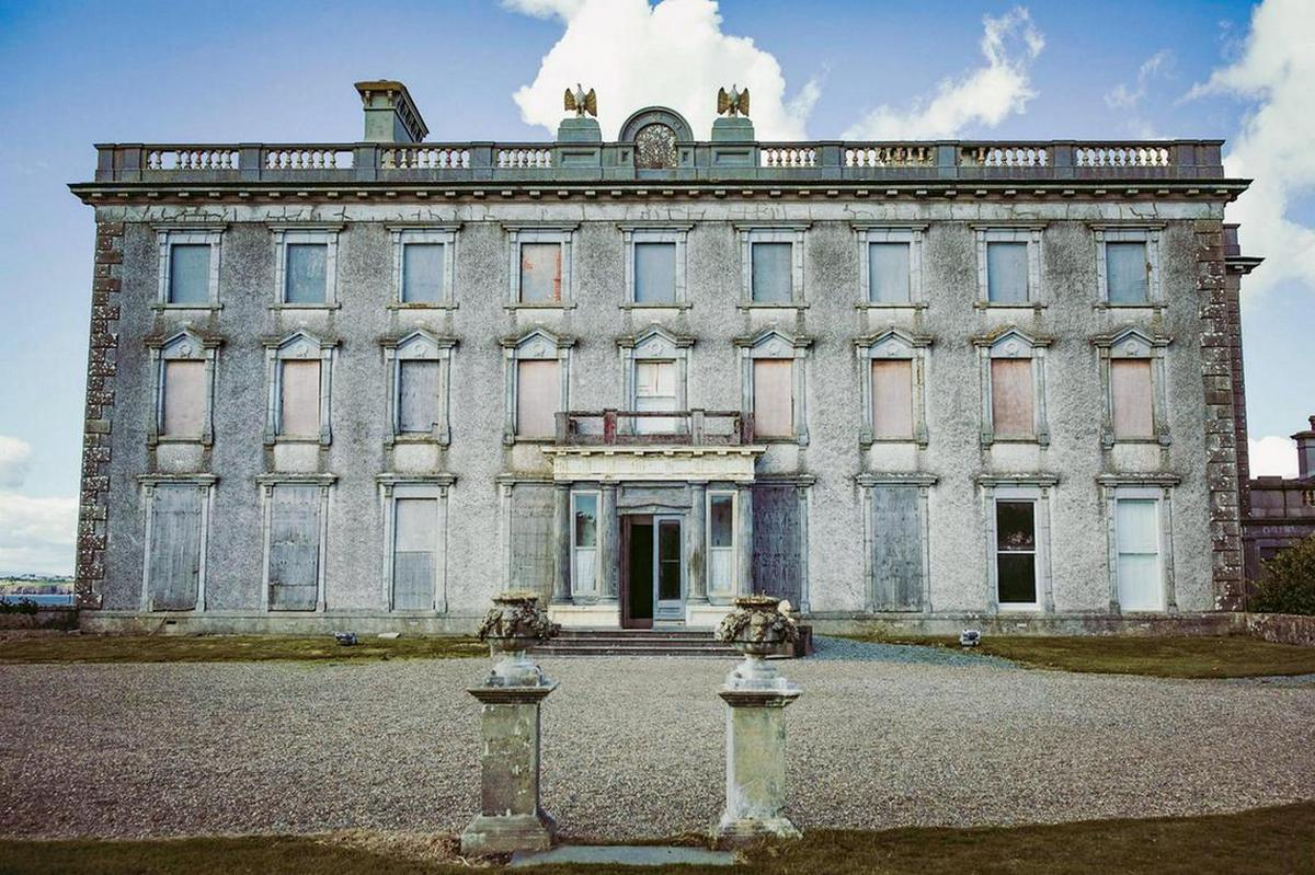 A rich history of spirits, exorcism and Satan himself – Ireland's most haunted mansion is up for sale