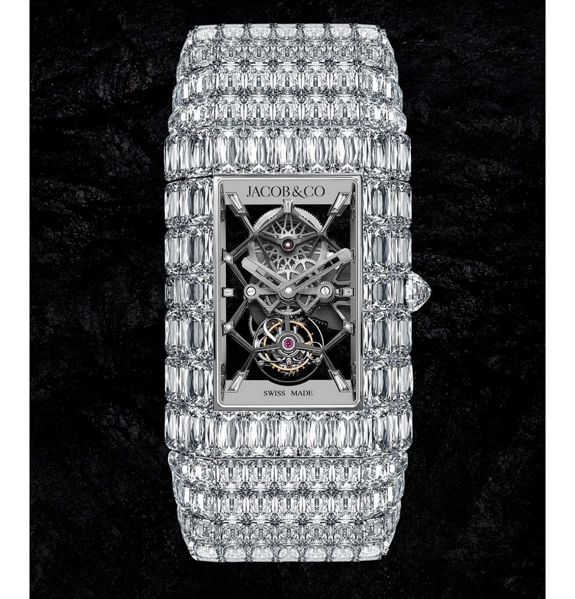 Just one for the whole world - Jacob & Co's newest Billionaire Watch costs $7 million and dazzles with 189 carats of astounding Ashoka diamonds : Luxurylaunches