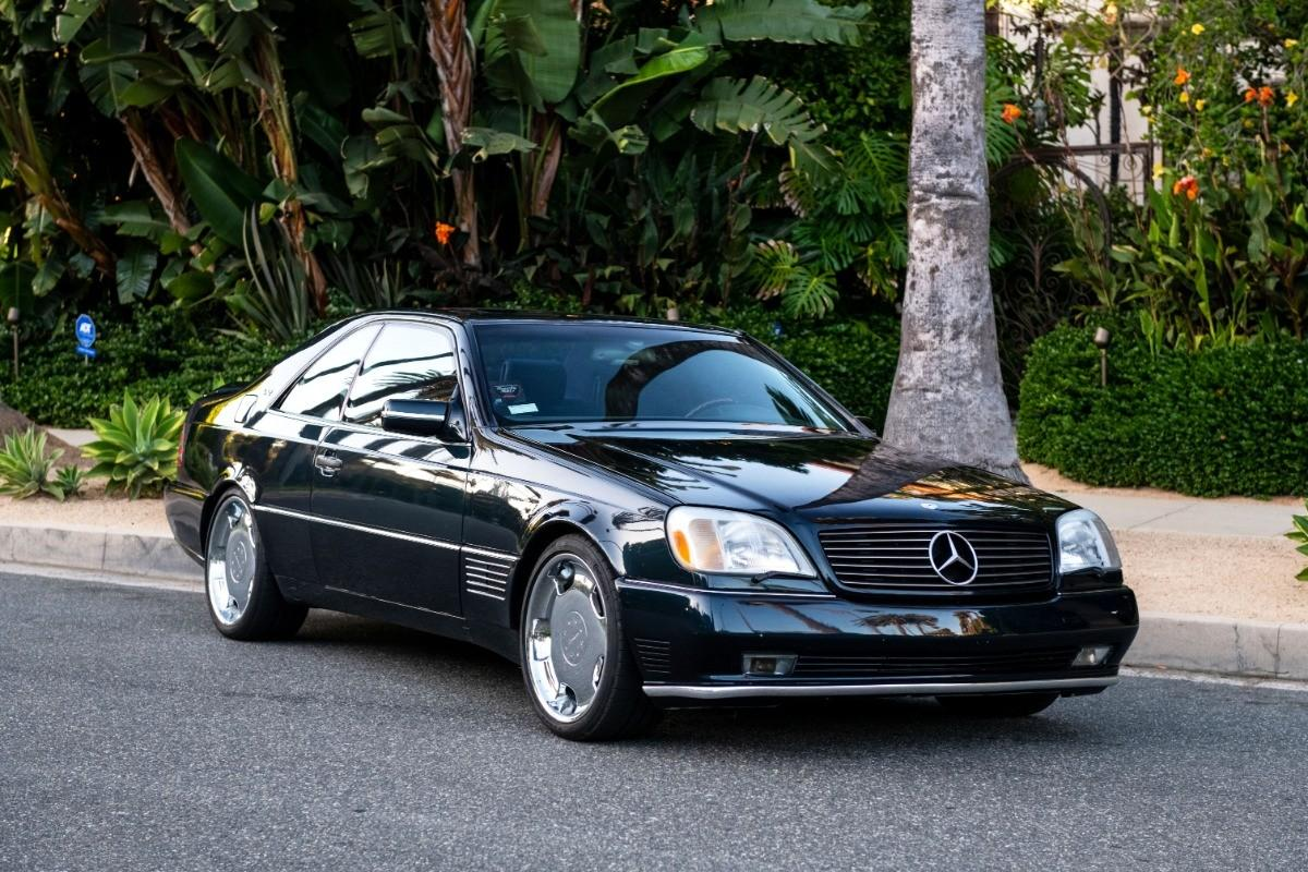 The Michael Jordan mania continues as his 1996 Mercedes-Benz S600 Lorinser sells for $202,200