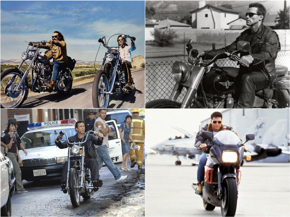 From The Great Escape's Triumph TR6 Trophy Bird to the Harley-Davidson Fatboy on Terminator 2 - Here are 7 of the best movie motorcycles ever : Luxurylaunches