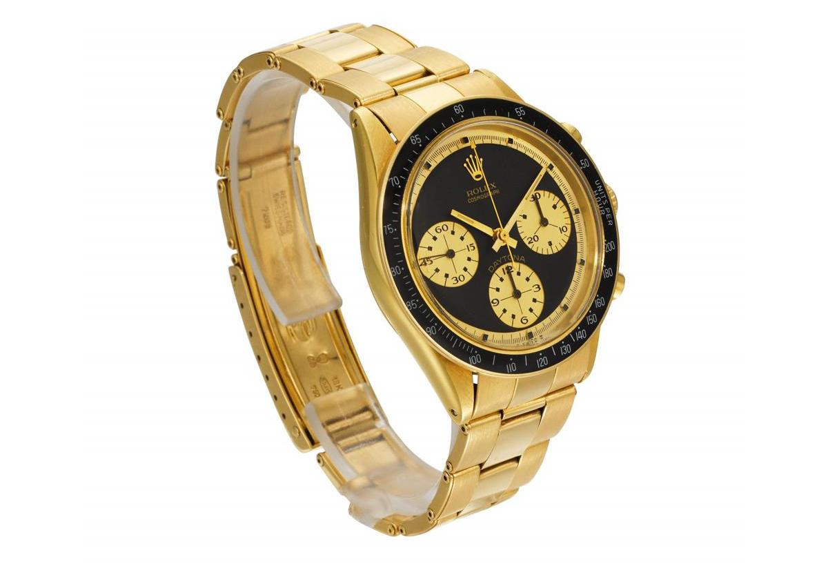 Someone bought this Ultra-rare Rolex Cosmograph Daytona JPS for a record $1.5 million in an online sale : Luxurylaunches