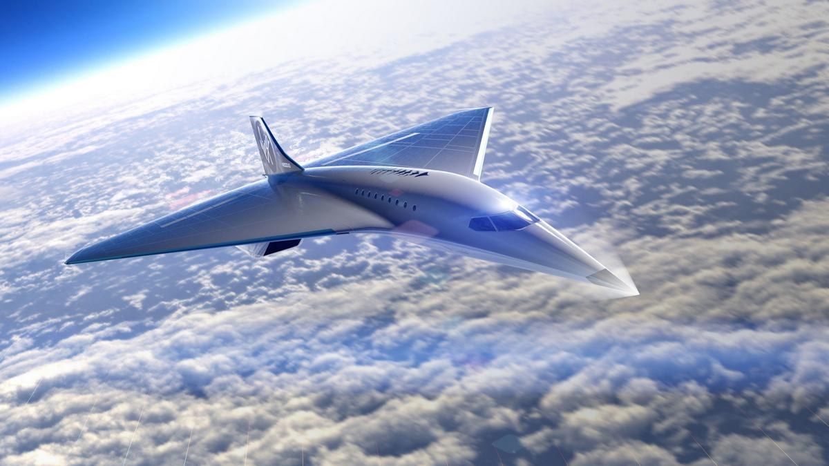 Think the Concorde was fancy? Take a look at the supersonic jets being built now