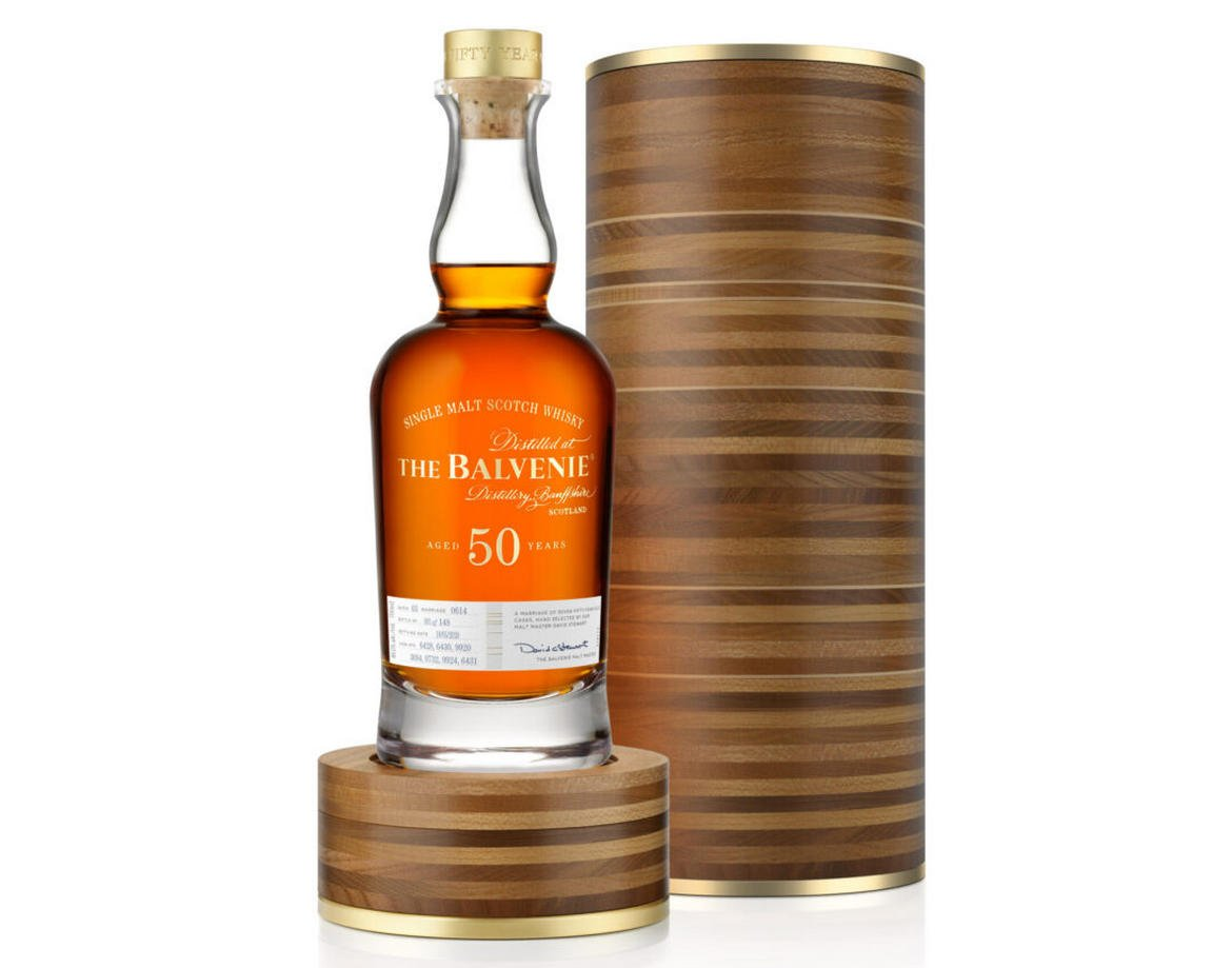 Have a look at Balvenie's 50-year-old Scotch Whisky that is worth a grand $40,500
