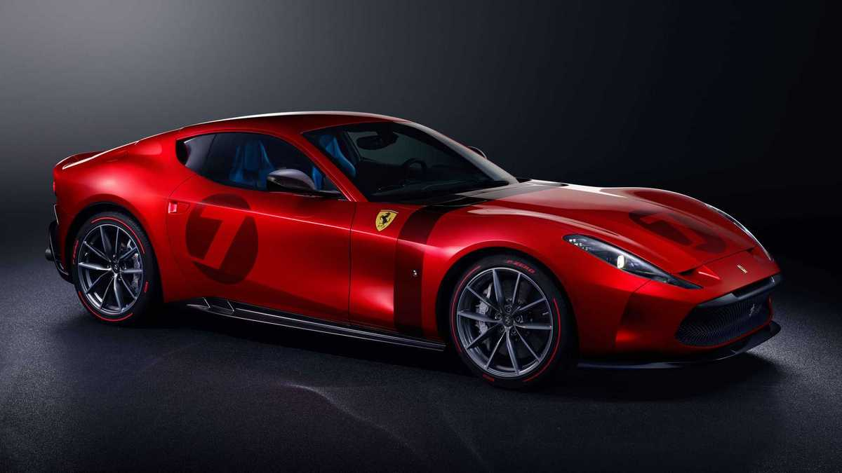 Ferrari engineers spent two years creating an outrageous one-off supercar for a lucky customer