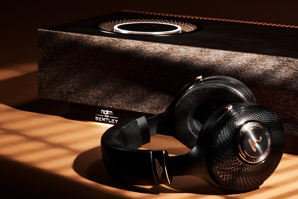 Bentley teams up with Naim and Focal to introduce a pair of special edition music player and headphones