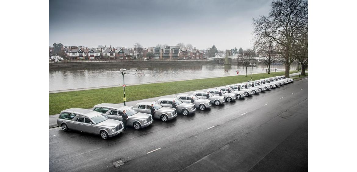 Not a King or an Oligarch, its this UK-based funeral service company that has the largest fleet of Rolls-Royce cars in the whole of Europe