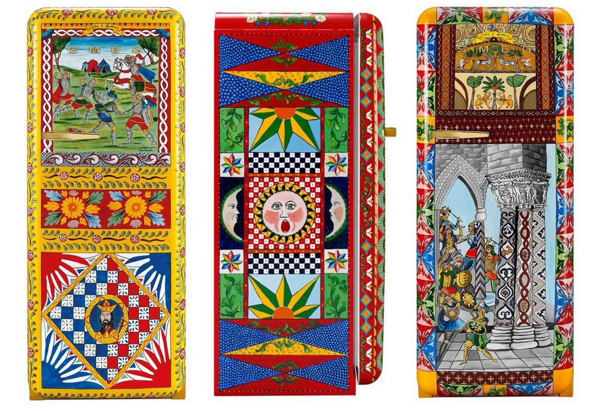 Dolce and Gabbana's $40,000 hand-painted refrigerators belong in opulent mansions or better yet…museums!