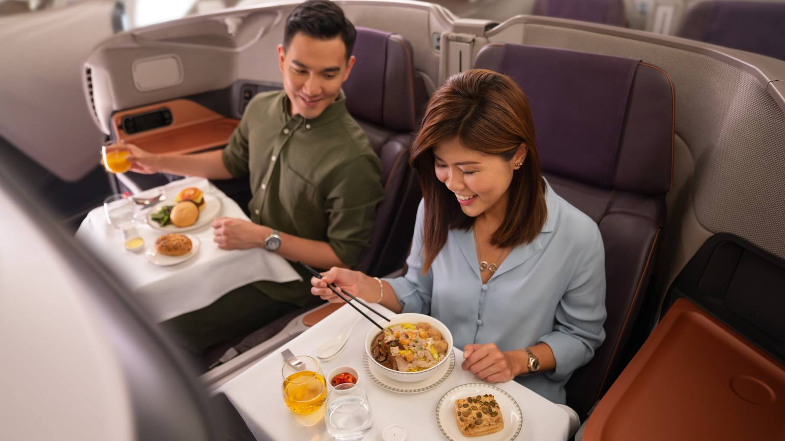 As no one is flying anymore, Singapore Airlines is converting its uber luxurious business class section on the Airbus A380 into a fine dine restaurant