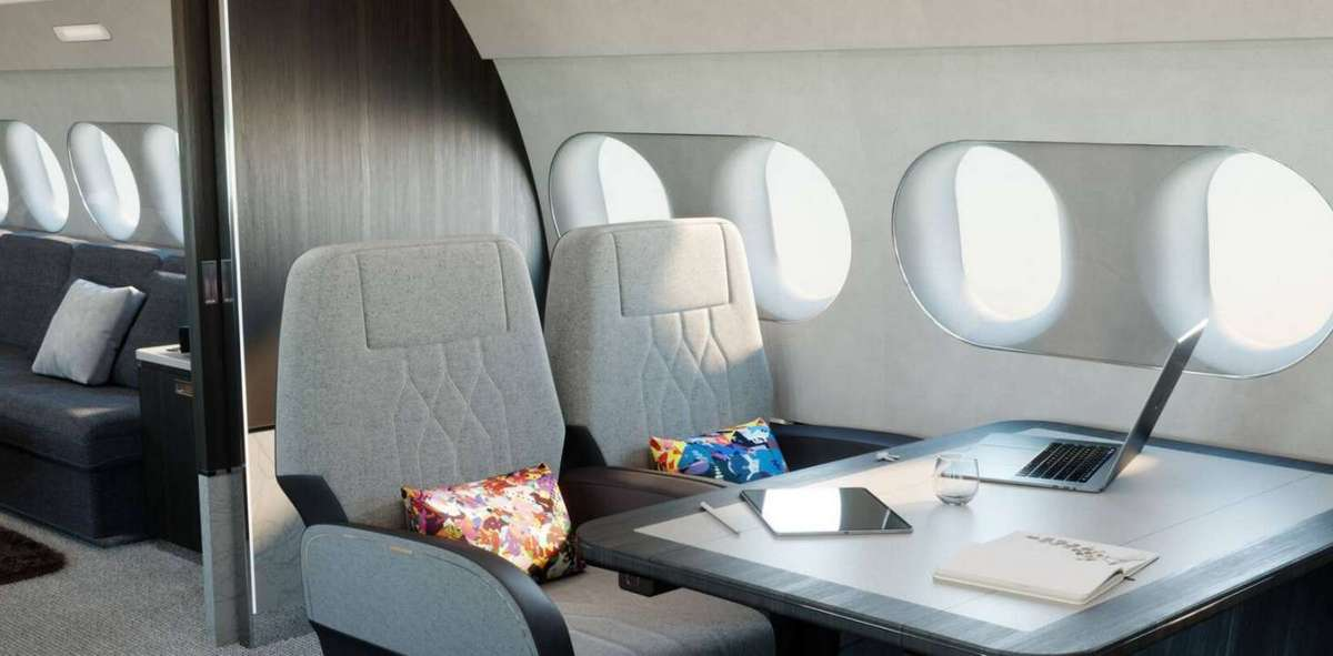 Onboard shower, king sized bed, six living areas and more – Airbus's newest private jet leaves no stone unturned when it comes to luxury