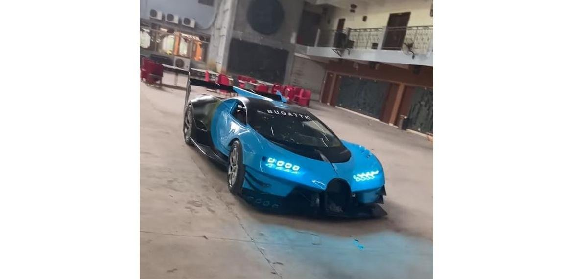 This mechanic built a replica of the $5 million one-off Bugatti Vision Gran Turismo Concept in just four months (and its impressive)