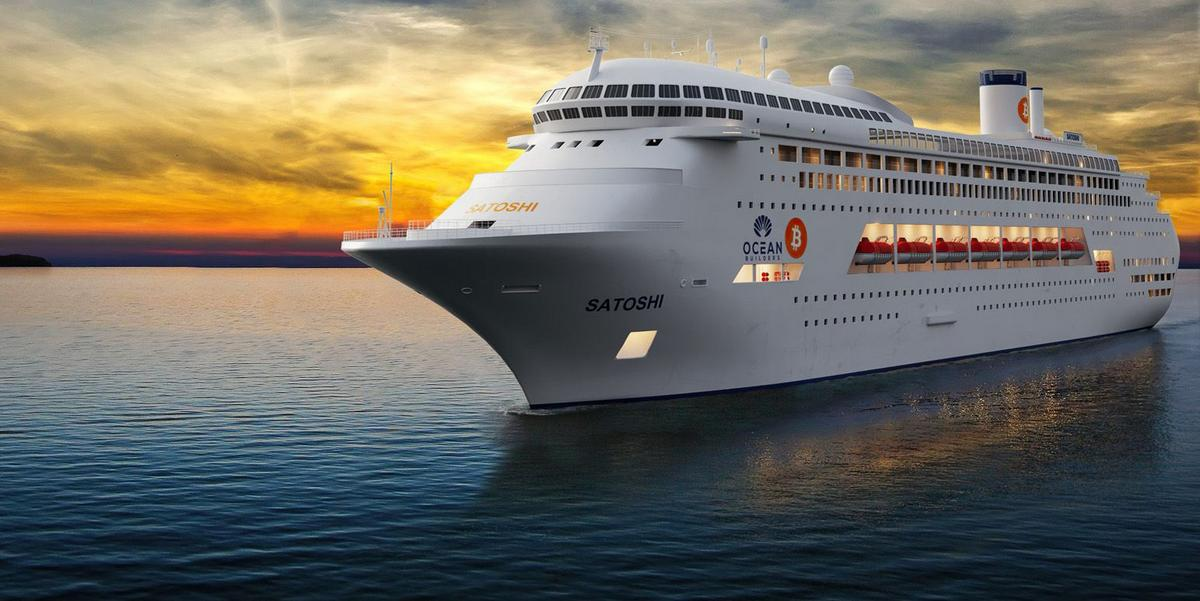 A WeWork for the high seas – With floating offices, condos, fitness centers the MS Satoshi cruise ship will be an incubator for 'digital nomads', influencers and techies