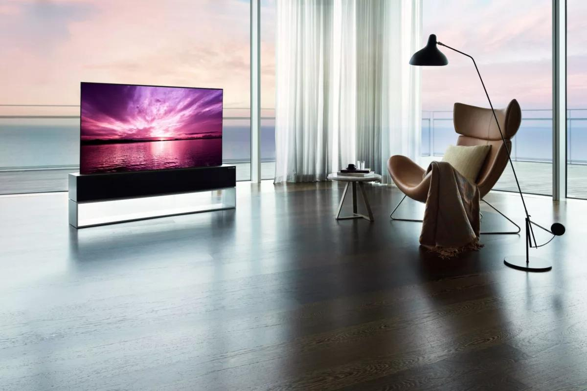 LG has made a rollable OLED TV and it costs more than a Tesla Model S