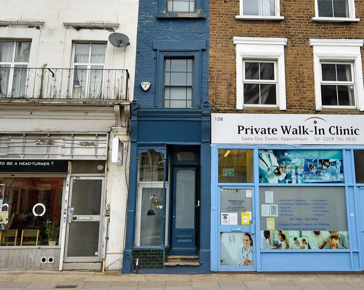 This is what $1.3 million gets you in London – The city's thinnest home thatnnn is just 6 feet wide