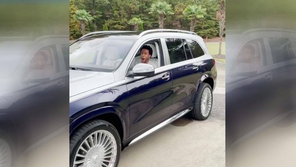 Ludacris Feels Like Kid In A Candy Store In His New Mercedes Maybach Gls Luxury Suv Luxurylaunches