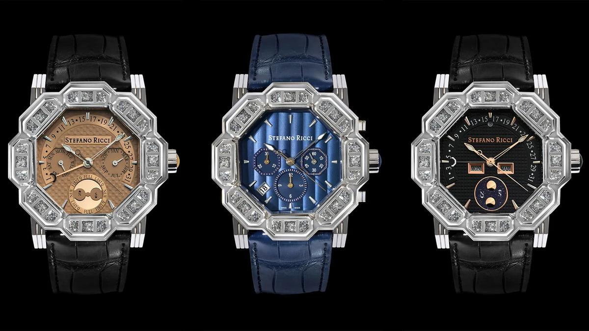 Stefano Ricci makes a foray into the world of horology with $220,000 Octagon Watches
