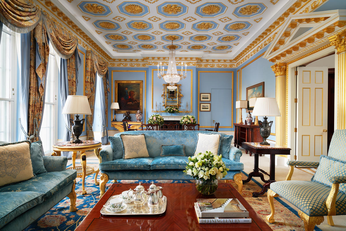 Suite of the week: Revel in London's unparalleled lavishness at the Royal Suite, Lanesborough Hotel, London