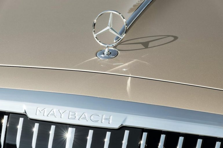 2021 Mercedes Maybach S Class 5