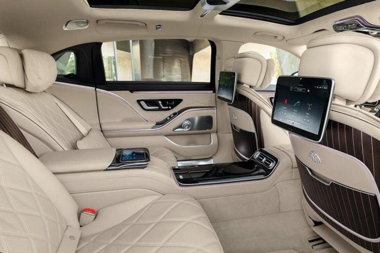 2021 Mercedes Maybach S Class 9