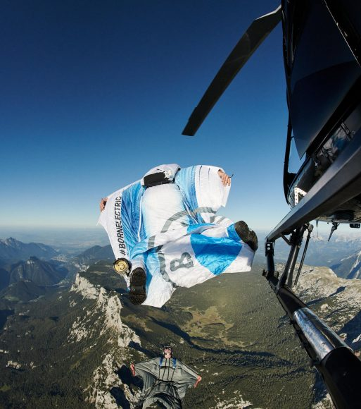 BMW has partnered with a skydiver to design the first