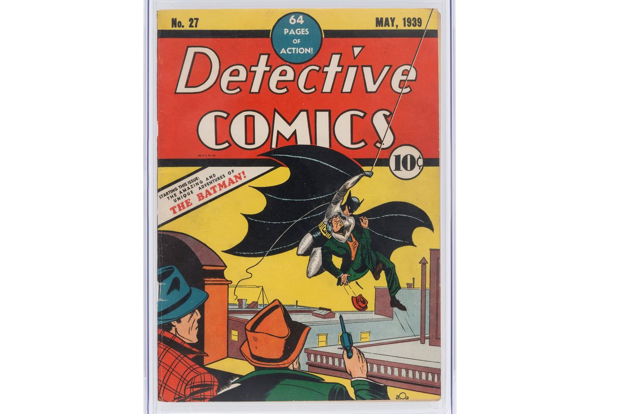 An ultra rare comic featuring the debut of Batman could fetch a staggering $1 million in auction