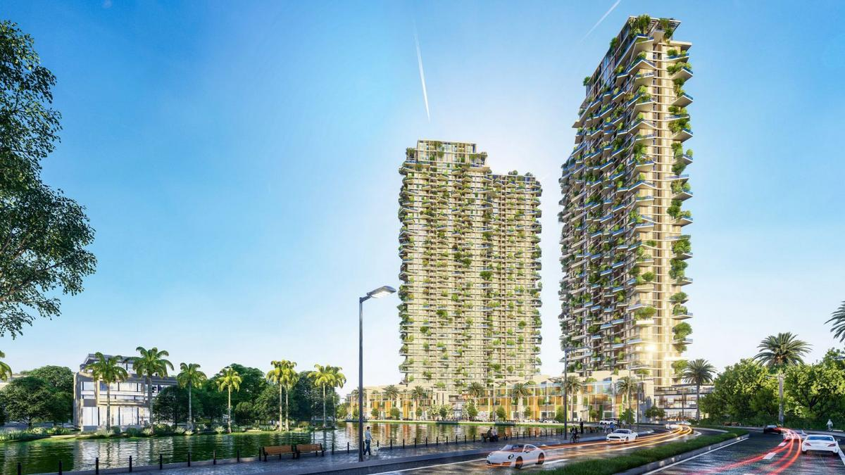 Cutting edge architecture meets sustainability – Vietnam will soon be home to one of the tallest vertical gardens in the world