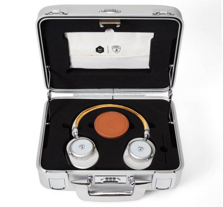 Lamborghini and Master & Dynamic have come together to launch an uber-cool  collection of headphones : Luxurylaunches