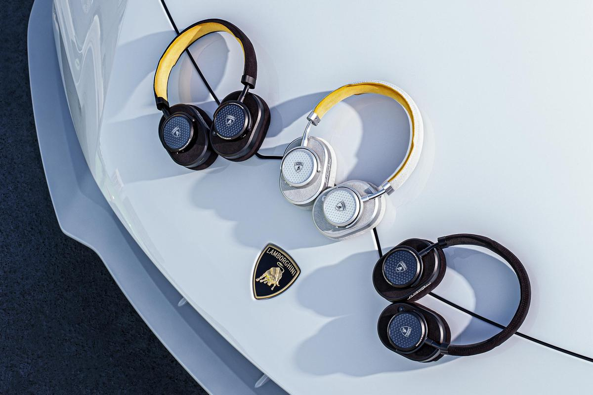 Lamborghini and Master & Dynamic have come together to launch an uber-cool collection of headphones