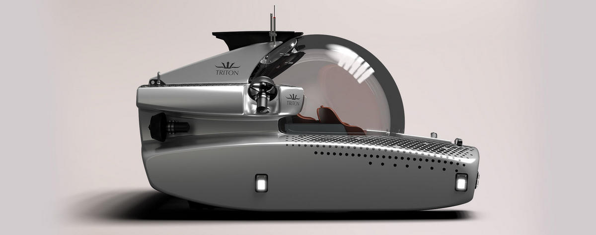 The ultimate billionaire toy – A $5.5 million personal submarine that carries 6 passengers and can dive upto 3,280ft while offering stunning views of the ocean from the transparent passenger compartment