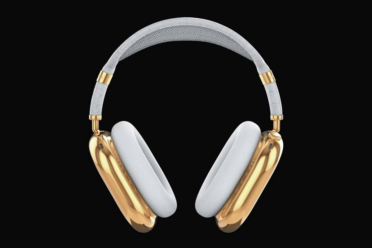 For $108,000 this Russian company will build you a one off 'solid gold' AirPods Max headphones