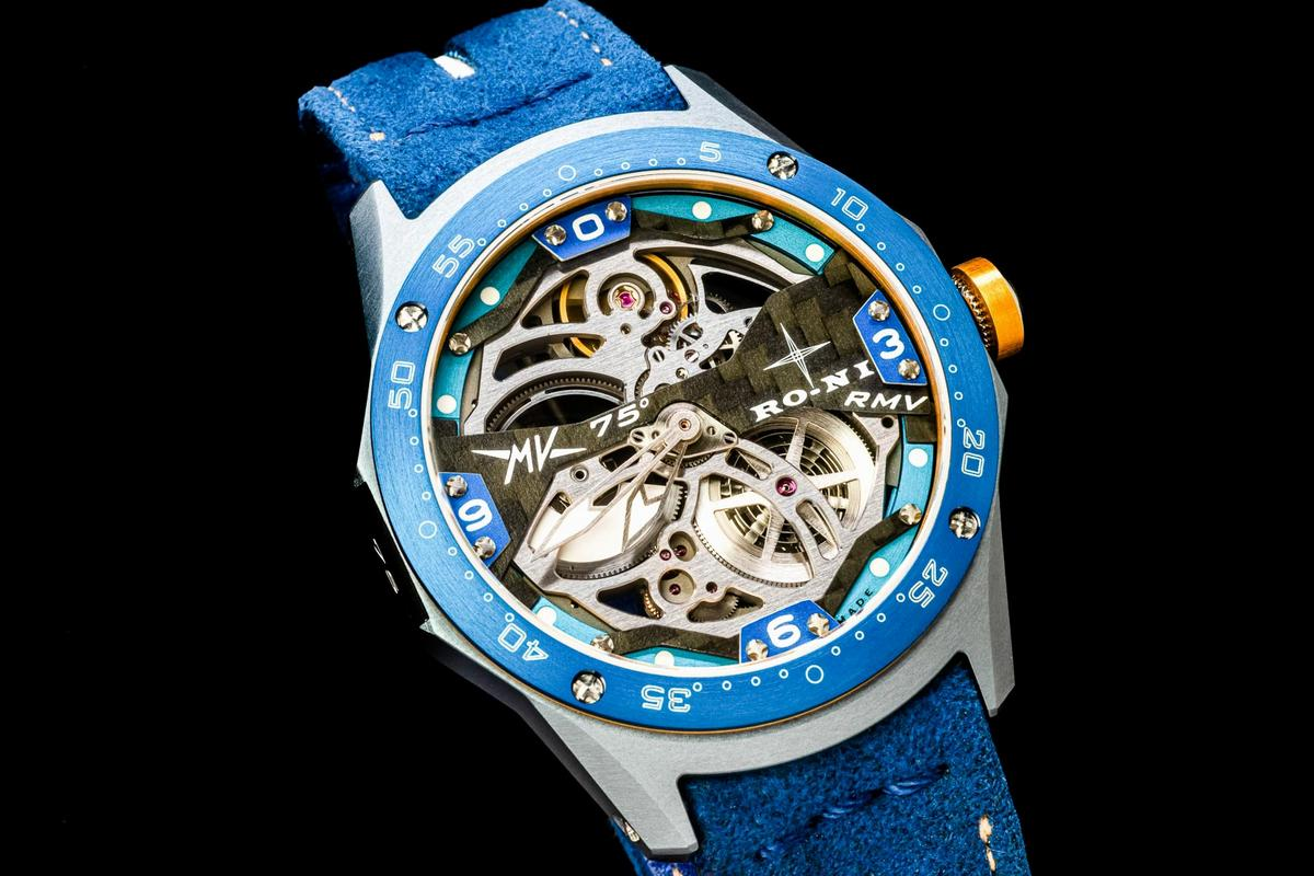 MV Agusta celebrates its 75th anniversary with a limited-edition handcrafted watch by RO-NI
