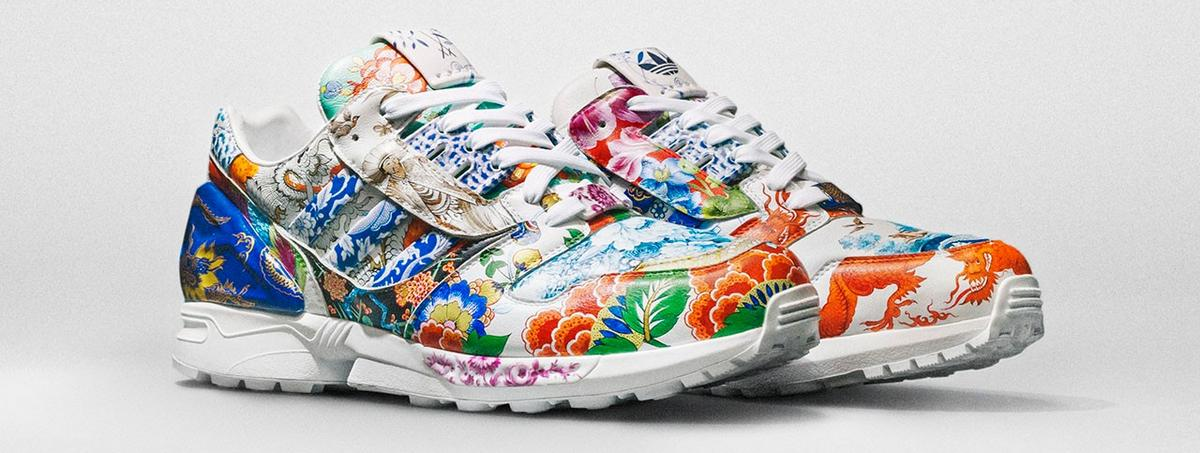 Check out this million dollar Adidas sneaker – Its hand painted and made of porcelain