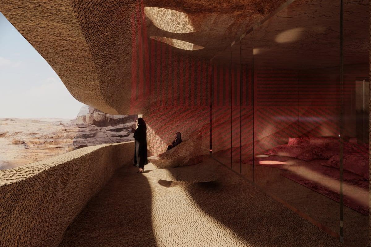 Saudi Arabia is building a mesmerizing subterranean resort and hotel below the Al-Ula desert