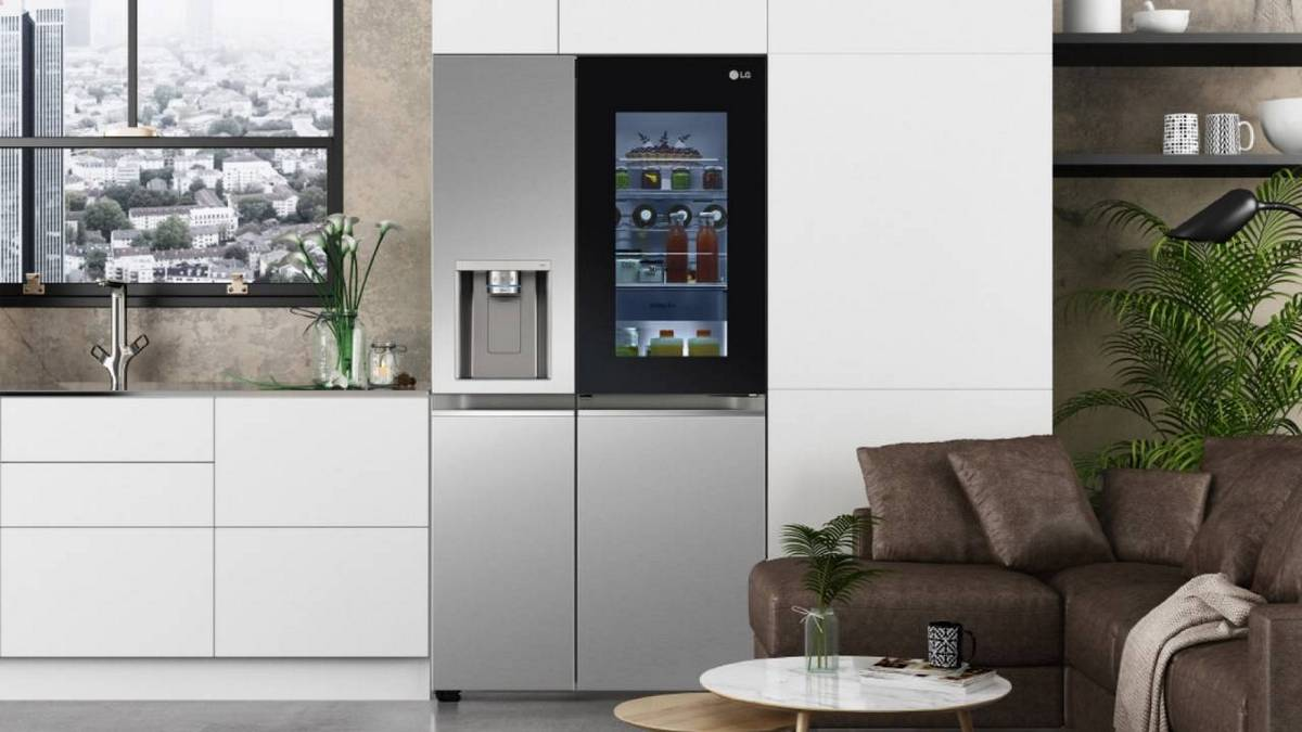 LG' newest voice-controlled smart refrigerator have voice controlled doors so you dont have to touch the handle and risk spreading germs