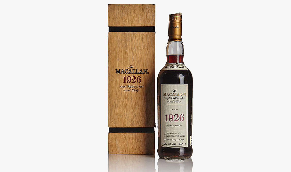 Estimated to be sold for $1.4 million – This Macallan 1926 could become the most expensive whiskey bottle ever sold