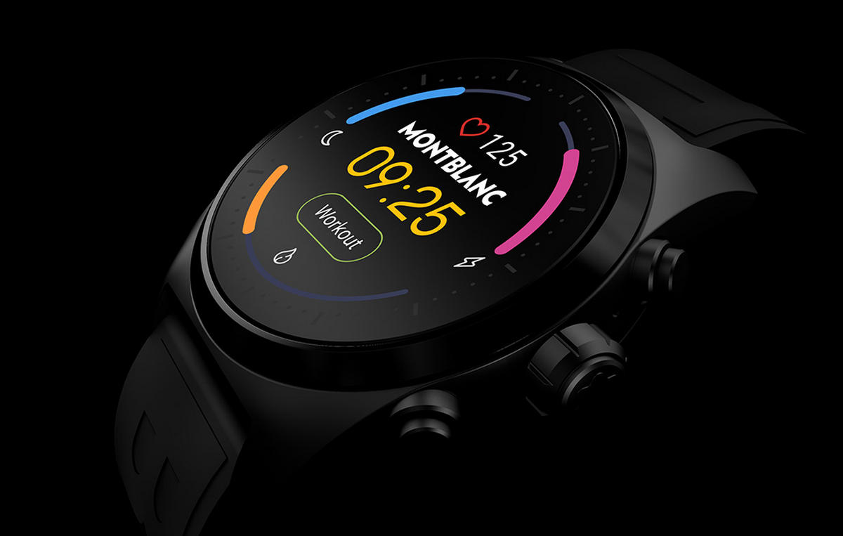Montblanc Summit Lite is the brand's new entry-level smartwatch created especially for those who believe in healthy living