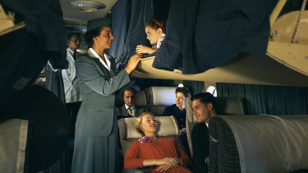Way back when flying was comfortable, glamorous and above all fun