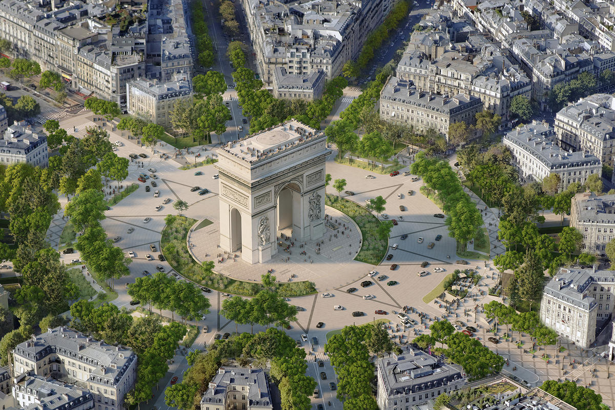 Paris' to get its own Central Park – The famed Champs-Élysées to be turned into a 1.2-mile, pedestrian-friendly extraordinary garden