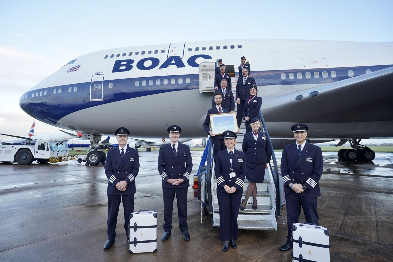 British Airways is selling $2,00 suitcases made from the parts of retired Boeing 747 jets