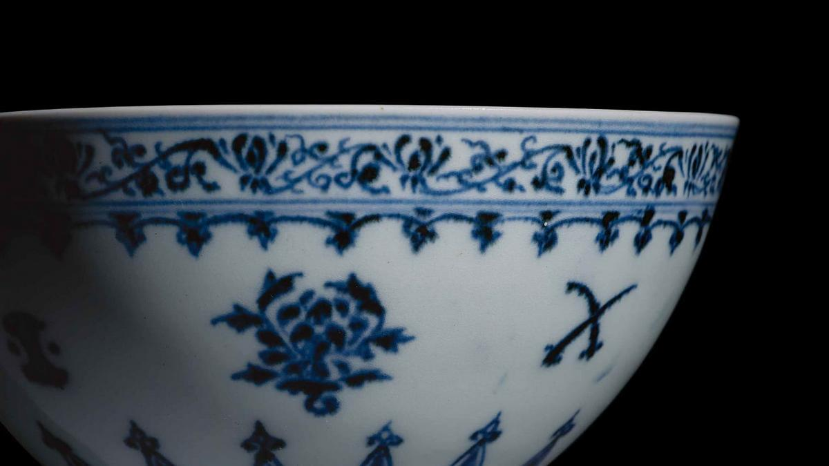 This small Chinese bowl bought at a yard sale in Connecticut for $35 could now fetch its owners half a million