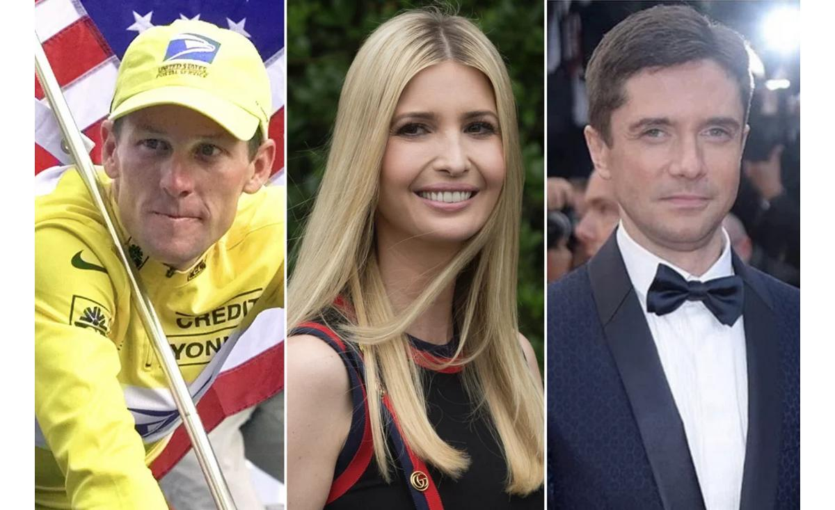 From the 72 year old Quincy Jones to Tour de France cyclist Lance Armstrong. The former flames of Ivanka Trump – Apparently, she only introduced Jared Kushner to her father and for a very good reason